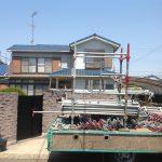 軒天とトタン屋根の補修