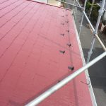 屋根の塗装と雪止め