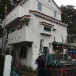 屋根葺き替え・外壁塗装工事(足場組)